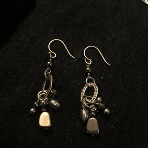 Silpada sterling silver earrings